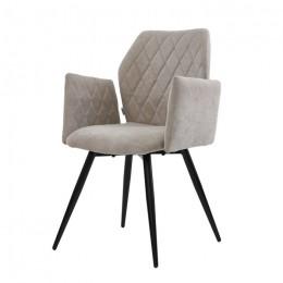 Кресло обеденное Glory (Глори) теплый серый Concepto