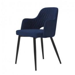 Кресло обеденное Joy (Джой) глубокий синий Concepto