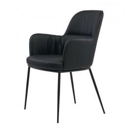 Кресло обеденное Sheldon (Шелдон) черный Concepto
