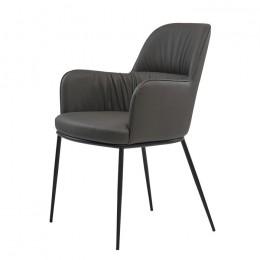 Кресло обеденное Sheldon (Шелдон) серый графит Concepto