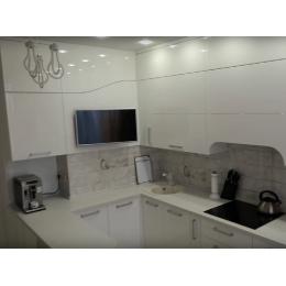 Кухня White Ceiling