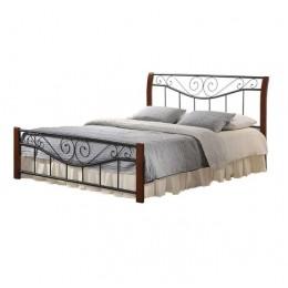 Кровать Ленора 1600*2000 М (каштан) Domini