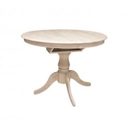 Стол Анжелика V 1060(+330)*1060*750 (крем) Domini