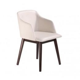 Кресло Либерти (КЗ кремовый) (венге) Domini