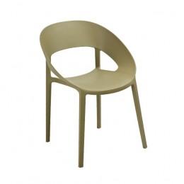 Кресло Шелл (ПЛ зеленый чай) Domini