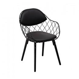 Кресло Вики (КЗ черный) (черный) Domini
