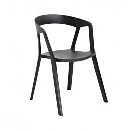 Кресло Корнер (ПЛ черный) Domini