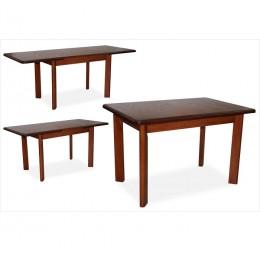 Стол обеденный Комфорт 120(+40+40)х80х75 (орех, венге)