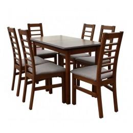 Стол обеденный Сид 120 (+30)х70х75 (орех, венге)