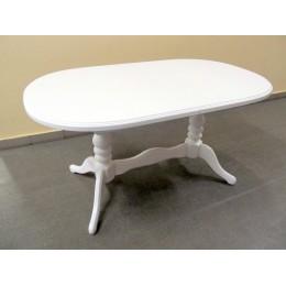 Стол обеденный Даниэль 120(+40)x80x78,5 белый
