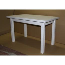 Стол обеденный Классик плюс 110(+30)х65х75  (белый, бежевый)