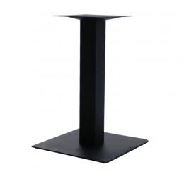 Опора для стола Лена крашенная черный высота 72 см размер 45*45 см ГСДМ