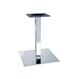 Опора для стола Нил высота 72 см основание 45*45 см нержавеющая сталь ГСДМ