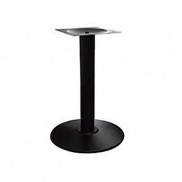 Опора для стола Ока крашенная черный высота 72 см диаметр 54 см ГСДМ