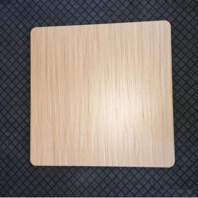 Столешница ЭЛЬБА-N квадратная 80*80 см натуральный дуб ГСДМ