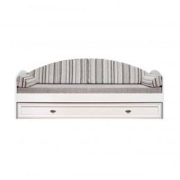 Салерно кровать с ящиком LOZ80 (Авеню полосатый) Гербор