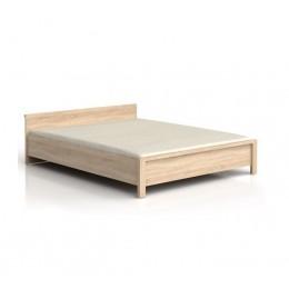 Каспиан сонома Кровать LOZ 140 (каркас) BRW