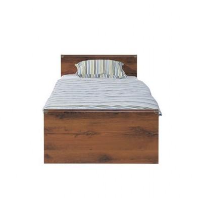 Индиана Кровать (каркас) JLOZ 90 дуб шуттер BRW