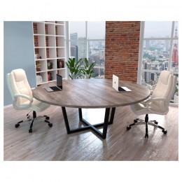Стол для переговоров D-2000 2000x2000x750 Loft design