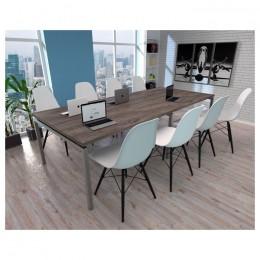 Стол для переговоров Q-270 2700x1000x750 Loft design