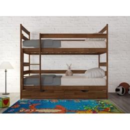 Двухъярусная кровать Дисней (бук) МиксМебель
