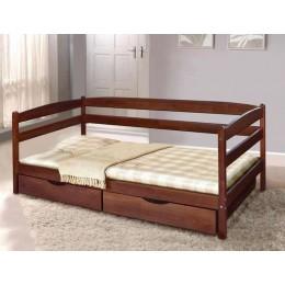 Детская кровать Ева (Бук) с ящиками 700х1400 МиксМебель