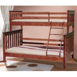 Двухъярусная Кровать Скандинавия (сосна) МиксМебель