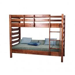 Двухъярусная кровать Троя (Сосна) МиксМебель