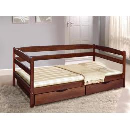 Кровать Ева (бук) с ящиками 900х2000 МиксМебель