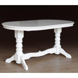 Стол обеденный Говерла (бук) Слоновая кость, белый МиксМебель