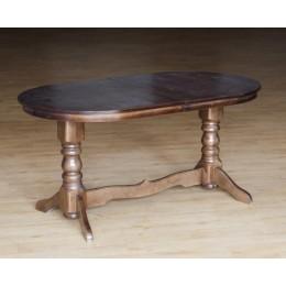 Стол обеденный Говерла (бук) темный орех МиксМебель