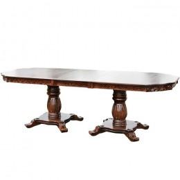Обеденный стол Монарх 2000(+500)*1000 (орех) МиксМебель