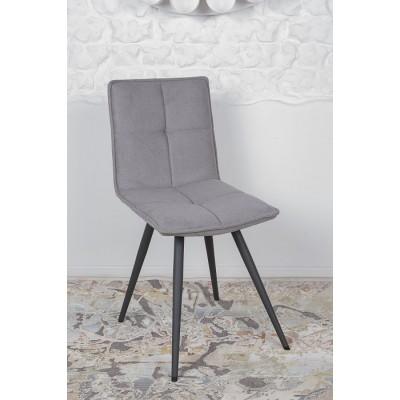 Стул поворотный MADRID (56*44*85 cm-текстиль) серый Nicolas