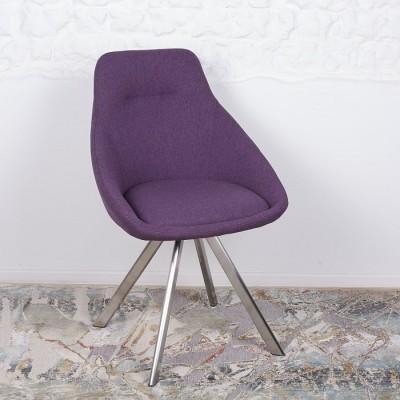 Стул поворотный TOLEDO (58*55*87 cm-текстиль) баклажан Nicolas