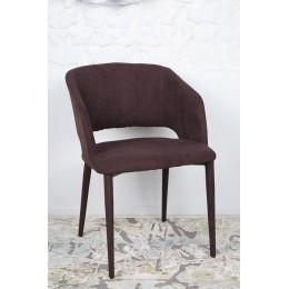 Стул ANDORRA (61*57*82 cm-текстиль) коричневый Nicolas