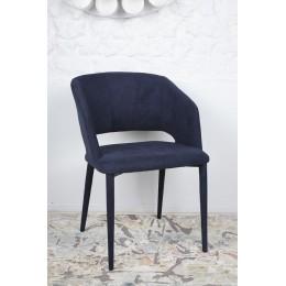 Стул ANDORRA (61*57*82 cm-текстиль) темно-синий Nicolas