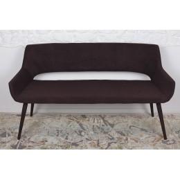 Кресло-банкетка BARCELONA (1310*610*810 текстиль) коричневый Nicolas