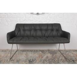 Кресло-банкетка LEON (1550*900*760) темно-серый Nicolas