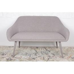 Кресло-банкетка MAIORICA (1310*610*810 текстиль) светло-серый Nicolas