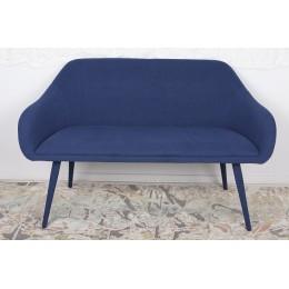 Кресло-банкетка MAIORICA (1310*610*810 текстиль) темно-синий Nicolas