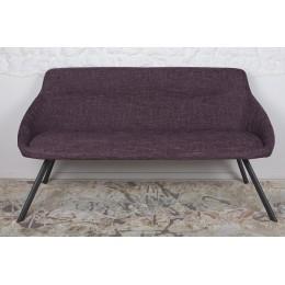 Кресло-банкетка TOLEDO (1550*640*830 текстиль) рогожка баклажан Nicolas