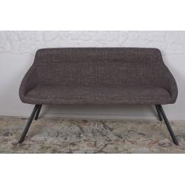 Кресло-банкетка TOLEDO (1550*640*830 текстиль) рогожка кофе-мокко Nicolas