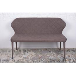 Кресло-банкетка VALENCIA (130*59*85 cm-текстиль) кофейная Nicolas