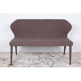 Кресло-банкетка VALENCIA (130*59*85 cm-текстиль) коричневая Nicolas