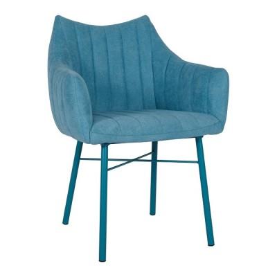 Кресло BONN (64*60*87 cm текстиль) бирюза Nicolas