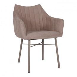 Кресло BONN (64*60*87 cm текстиль) кофейный Nicolas