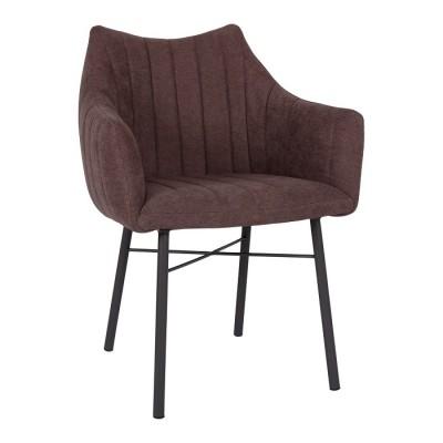 Кресло BONN (64*60*87 cm текстиль) коричневый Nicolas