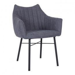 Кресло BONN (64*60*87 cm текстиль) серый Nicolas