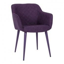 Кресло BAVARIA (58*65*80 cm текстиль) баклажан Nicolas