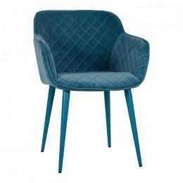 Кресло BAVARIA (58*65*80 cm текстиль) бирюза Nicolas